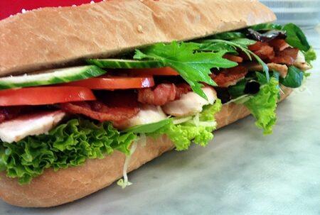Kylling sandwich hjemmelavet