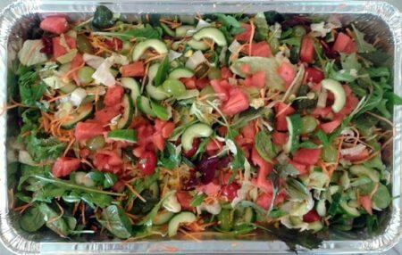 salat med melon